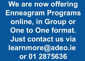 Enneagram Programs Online